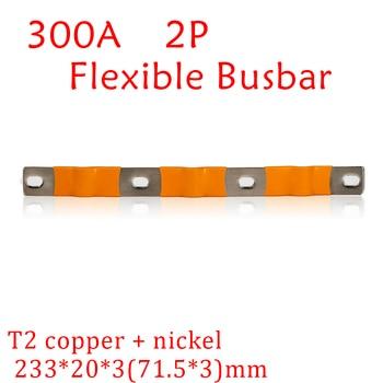 Barra de carga de litio de 300A, 2P, para 24V, 12V, 200A, 36V, 400A, LiFePo4, 60V, 500A, barra de Bus de níquel, cobre, 48V, 600A 1