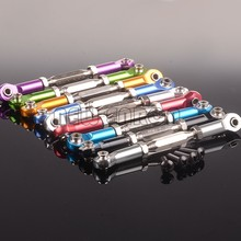 NEUE ENRON 2P Aluminium Vorne/Hinten Servo Link 90-102MM Für RC HPI 1:10 Lkw Kugel 3,0 ST/MT/WR8 1/10
