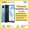 Global Version realme C21 Smartphone Helio G35 Octa Core 6.5'' inch Screen 5000mAh Massive Battery 3-Card Slot 13MP Camera 1