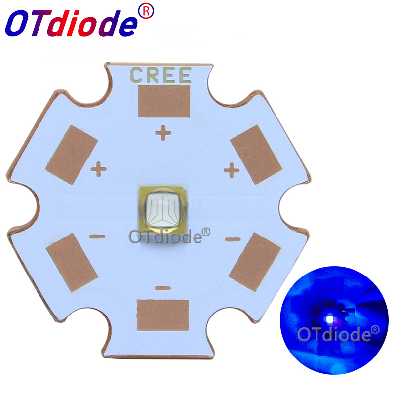 Original 1-10PCS 5W UV/Ultra Violet LG3535 High Power LED Emitter Diode 380nm 385nm 75 Degree 130 Degree For UV Curable Ink