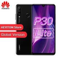 Globale Versione Originale Huawei P30 Lite Nova 4e Smartphone Octa Core Android 9.0 di Impronte Digitali ID 3340mAh 4 Macchine Fotografiche Del Telefono