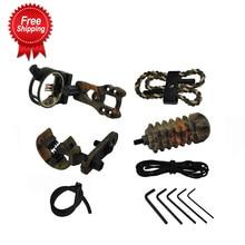 5 Kleur Boogschieten Combo Boog Basic Accessoire Gereedschappen Sight Kits Pijlsteun Stabilisator Compound Jacht Boog Accessoires