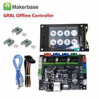 GRBL 1,1 OFFLINE CNC breakout board CNC laser touch screen 3 achsen stepper fahrer mainboard CNC laser stecher control schild