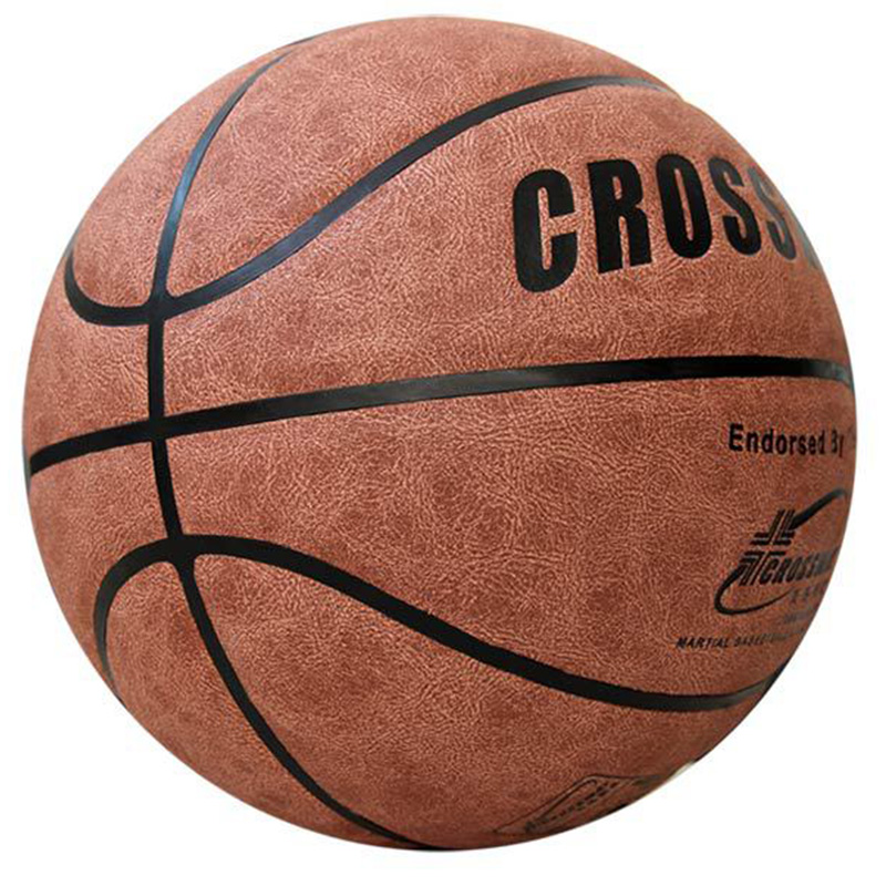 New Hairy Cowhide Basketball Outdoor Indoor Size 7 PU Leather Basketball Ball Training Basket Ball Basketball Net Outdoor Sports