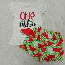 Remake crianças conjuntos de roupas boutique roupas do bebê da menina verão roupa do bebê verão roupas da menina conjunto 2 pçs roupa