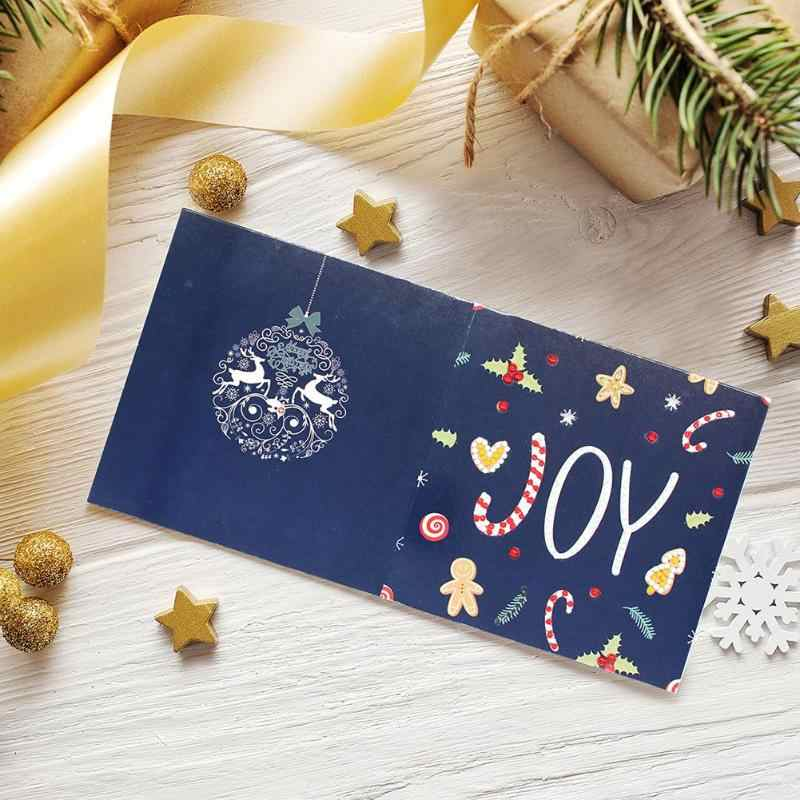 DIY decoración de Navidad pintura de diamante tarjeta de felicitación Forma especial bordado de diamantes para navidad tarjetas de cumpleaños regalo de Navidad
