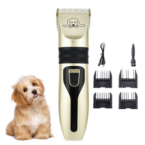 Rechargeable Pet Dog Hair Trimmer Animal Grooming Clippers Cat Cutter Machine Shaver Electric Scissor Remover Haircut Machine(China)