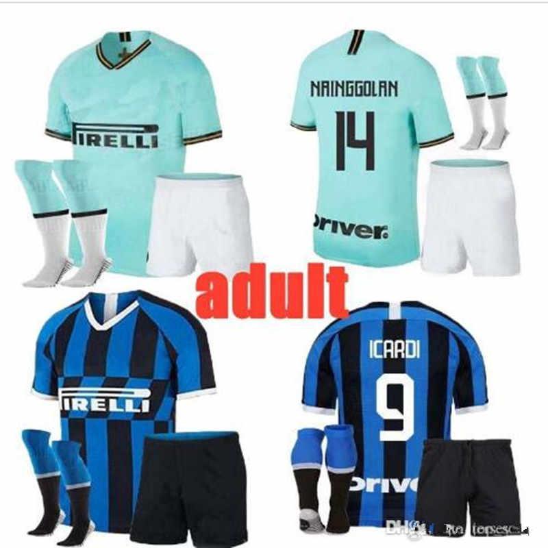 premium selection 80e57 b8452 2019 Inter milan football jerseys LAUTARO ICARDI NAINGGOLAN ...