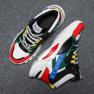 Image 5 - 2020 מותג אופנה גברים של נעליים יומיומיות נוח זכר נעליים חיצוני נעלי ספורט גברים פנאי שטוח Chaussure Homme גבוהה למעלה הנעלה