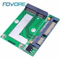 Adaptador de tarjeta Mini PCI-E MSATA SSD a SATA 2,5, adaptador GPS de 6,0 pulgadas, placa de módulo para Cables de ordenador, 1 unidad