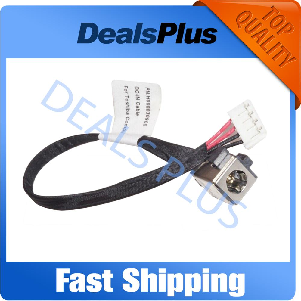 New DC Jack Power Cable Socket Connector Port Wire Harness Charging Cable For Toshiba Satellite C670 C675 L770 L770D L775 L775D