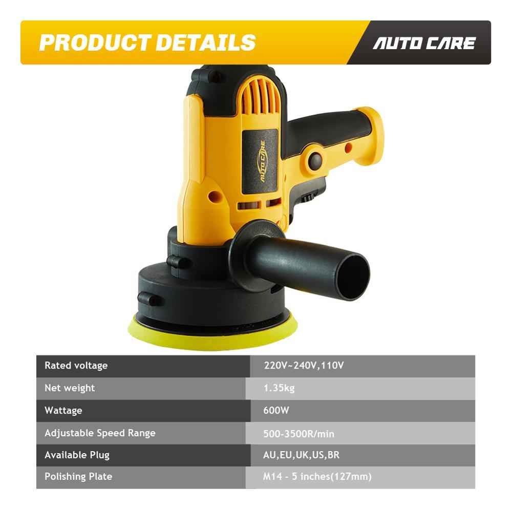 600W 220V/110V Maschine Auto Polieren Maschine Elektrische Auto Polierer Kit Schleifen Rotatorische M14 Wachsen Werkzeuge zubehör
