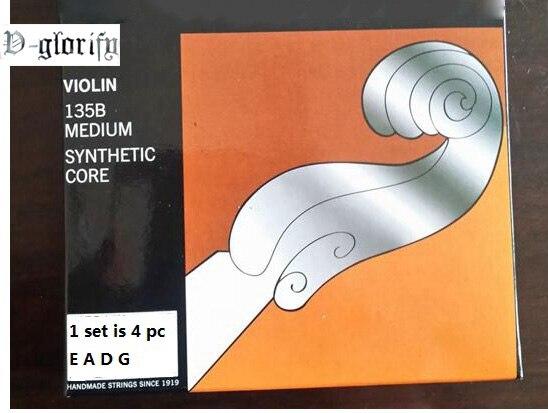 Violin String 135B Medium 4/4 Free Shipping 1 Set 4pc