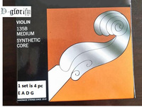 Violin String 135B Medium 4/4 Free shipping 1 set 4pc