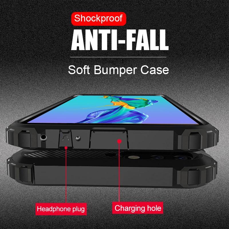 Чехол для Huawei Mate 30 Pro, сверхпрочный противоударный прочный бампер, гибридный жесткий армированный чехол-накладка для Huawei P20 P30 Lite