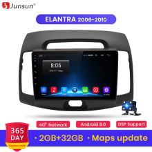 Junsun V1 2G+32G Android 9.0 For Hyundai Elantra Mk2/Mk3 2006-2010 Car Radio Multimedia Video Player Navigation GPS 2 din dvd(China)