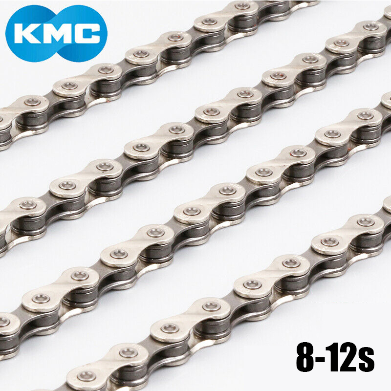 Silver Steel 9 10 11Speed MTB Road Bicycle Chain Mountain Bike Chain 116 Links