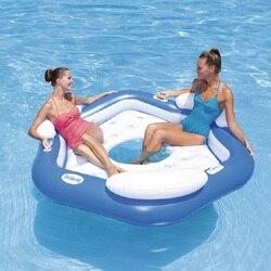 Sea park recliner water floating discharge floating bed floating rest water discharge swimming