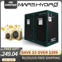 1680D Mars Hydro 240X120X200cm Indoor LED Wachsen Zelt Indoor Wachsenden System ungiftig anlage zimmer Indoor garten Wasser-beweis hütte