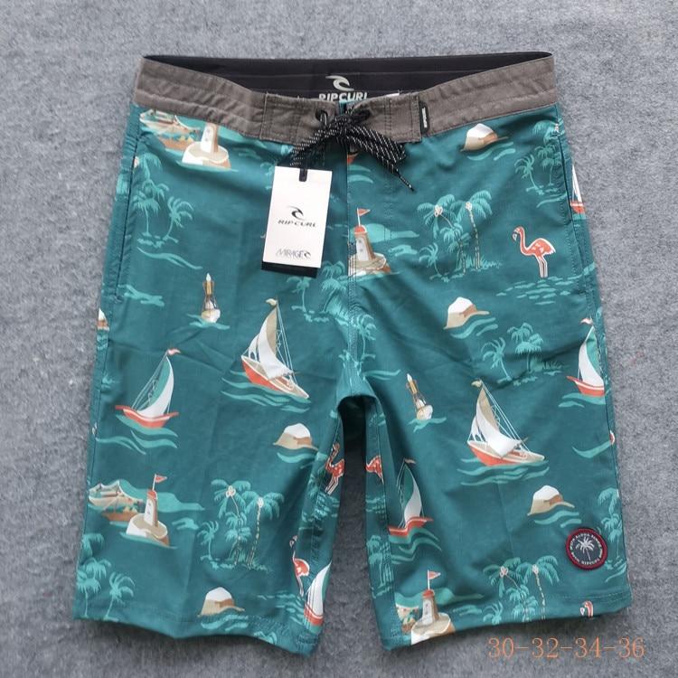 RipCurl Beach Shorts Men's Trousers Western Style Men's Sports Boardshort Short Short Shorts