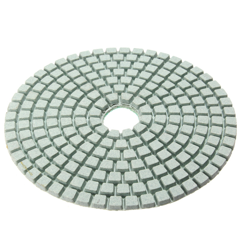 Image 4 - 12pcs/Set 4'/100mm Abrasive Tools Wet Dry Diamond Polishing Pads Sanding Disc Grinder For Granite Stone Concrete Marble Polisher-in Polishing Pads from Tools