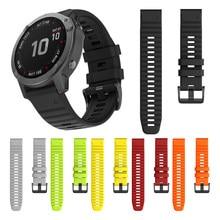Bracelet de montre en Silicone à dégagement rapide, pour Garmin Fenix 6X 6 Pro Fenix 5X 5 Plus 3 heures, 2019