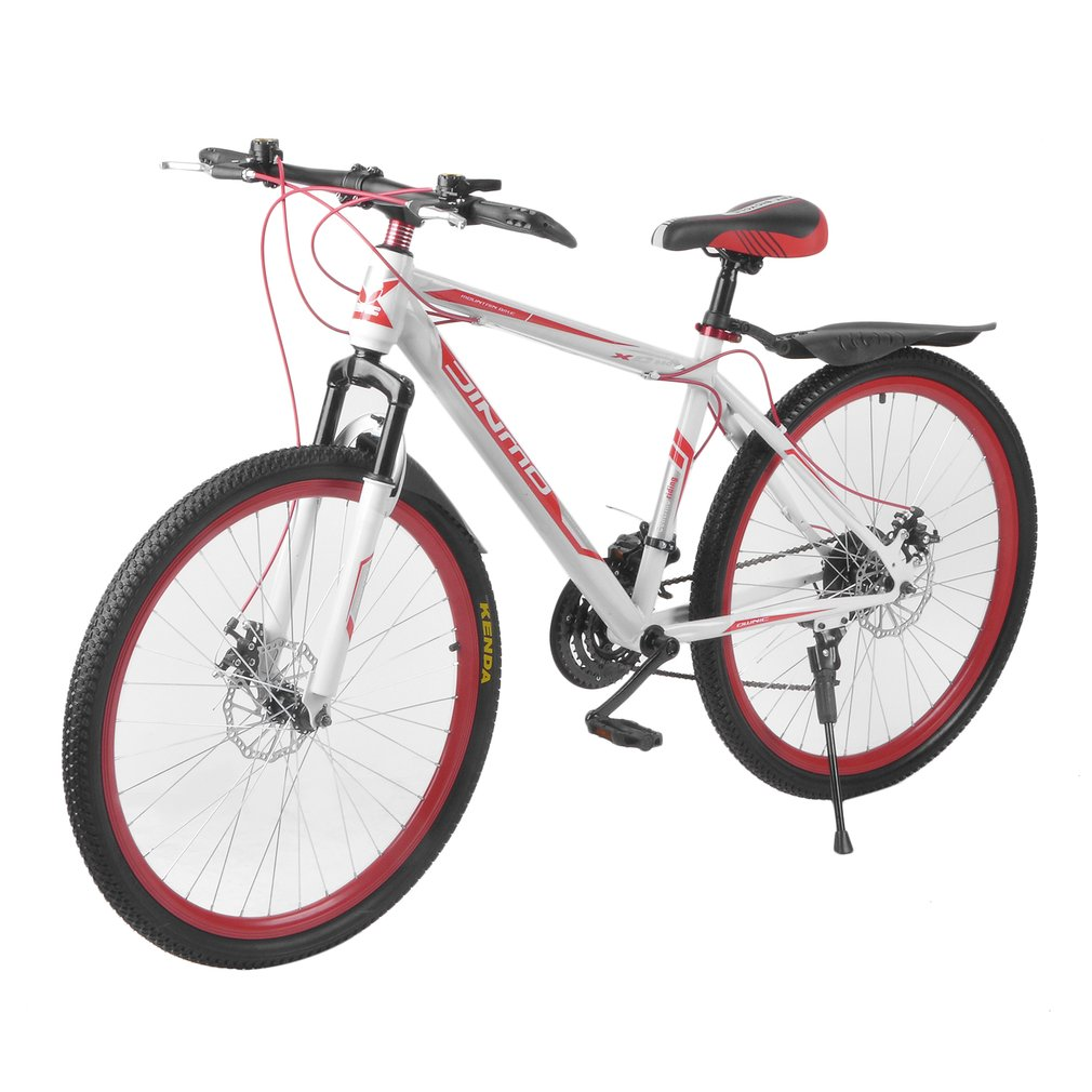 26 InchX17 Inch Front And Rear Disc Bike 30 Circle Mountain Bike Variable Speed MTB Road Racing Bicycle