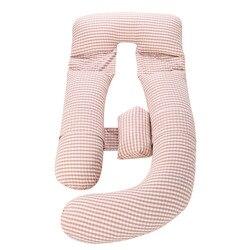 G forma embarazada almohada Multi-función almohada lado dormir almohadilla protectora cubierta para mujeres embarazadas maternidad almohada