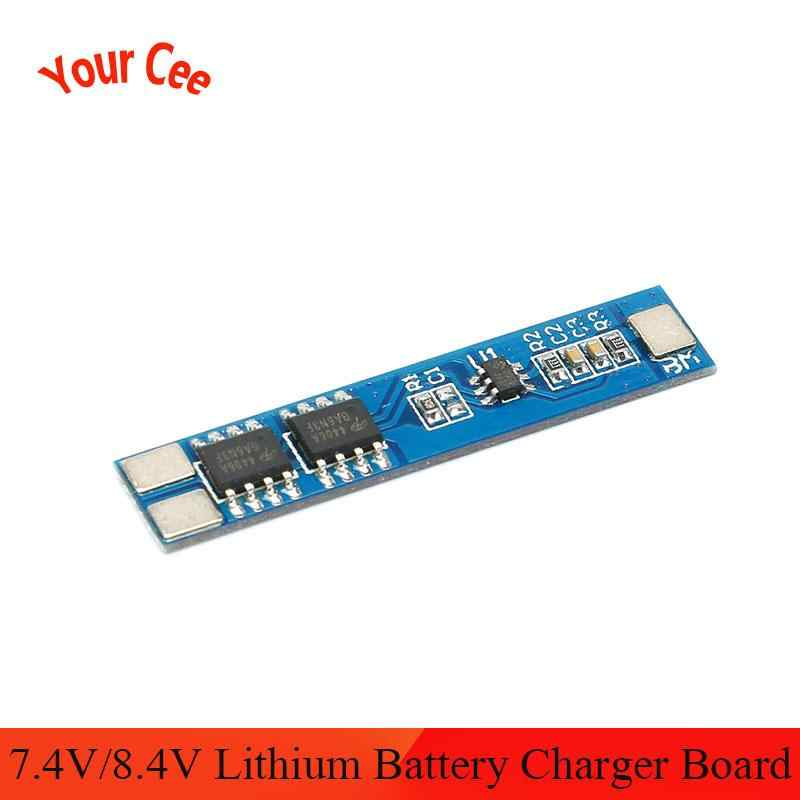 2x 2S 5A Li-ion Lithium Battery 18650 Charger Protection Board Module 7.4V 8.4V