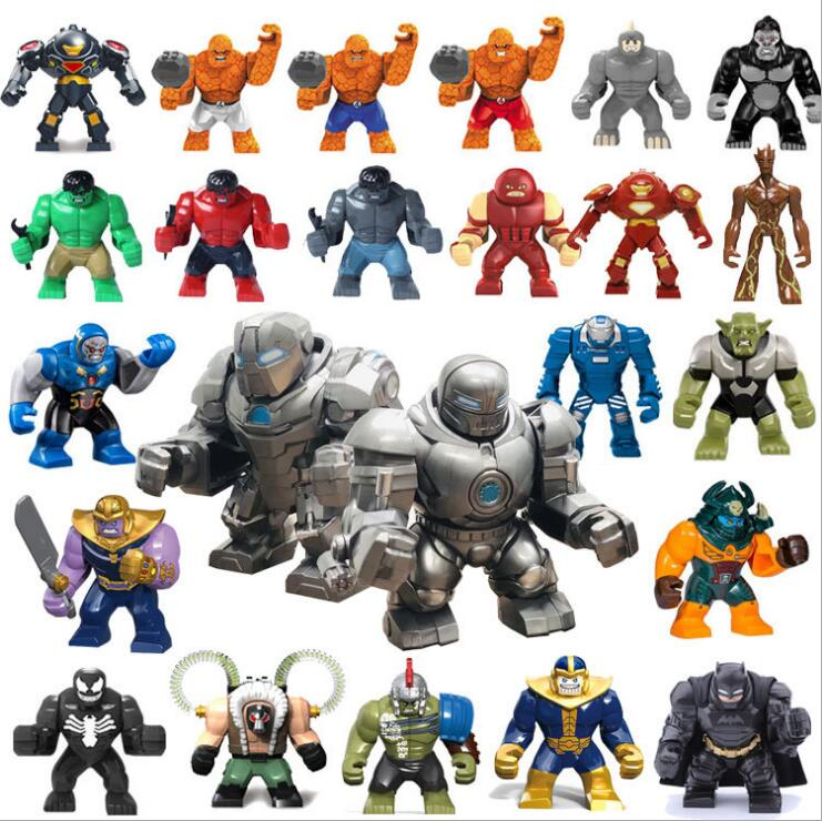 Decool Marvel Super Hero Batman Groot Juggernaut Thanos Venom Bricks Building Block Figue Toys Kid Gift Best Toys For Children