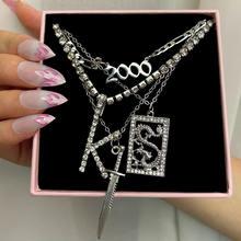 Женское Ожерелье с кулоном just feel punk dragon knife 2000