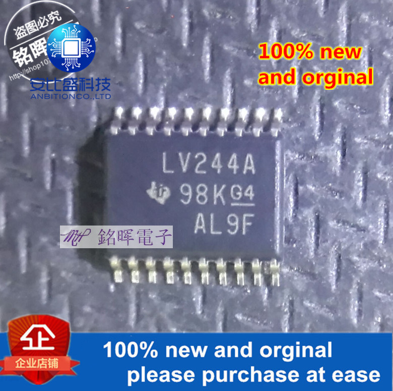 10pcs 100% New And Orginal SN74LV244APWR LV244A TSSOP-20 In Stock