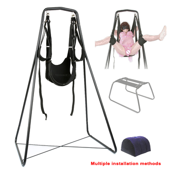 Adjustable Multifunction Transform Swing Adults Product Sex Toys For Couples Flirt Sex Swing Hammock Rocking Chair Sex Furniture