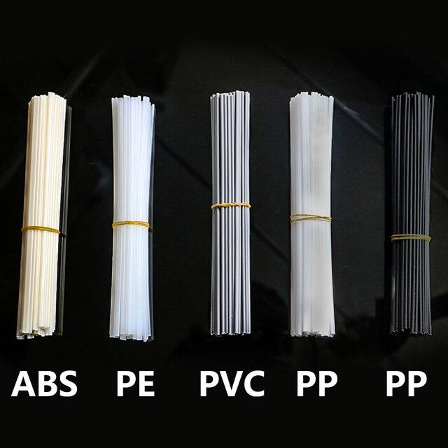 10PCS Plastic welding rods ABS/PP/PVC/PE Welding Sticks 5x2mm for Plastic Welder gun Bumper Repair Welding Supplies