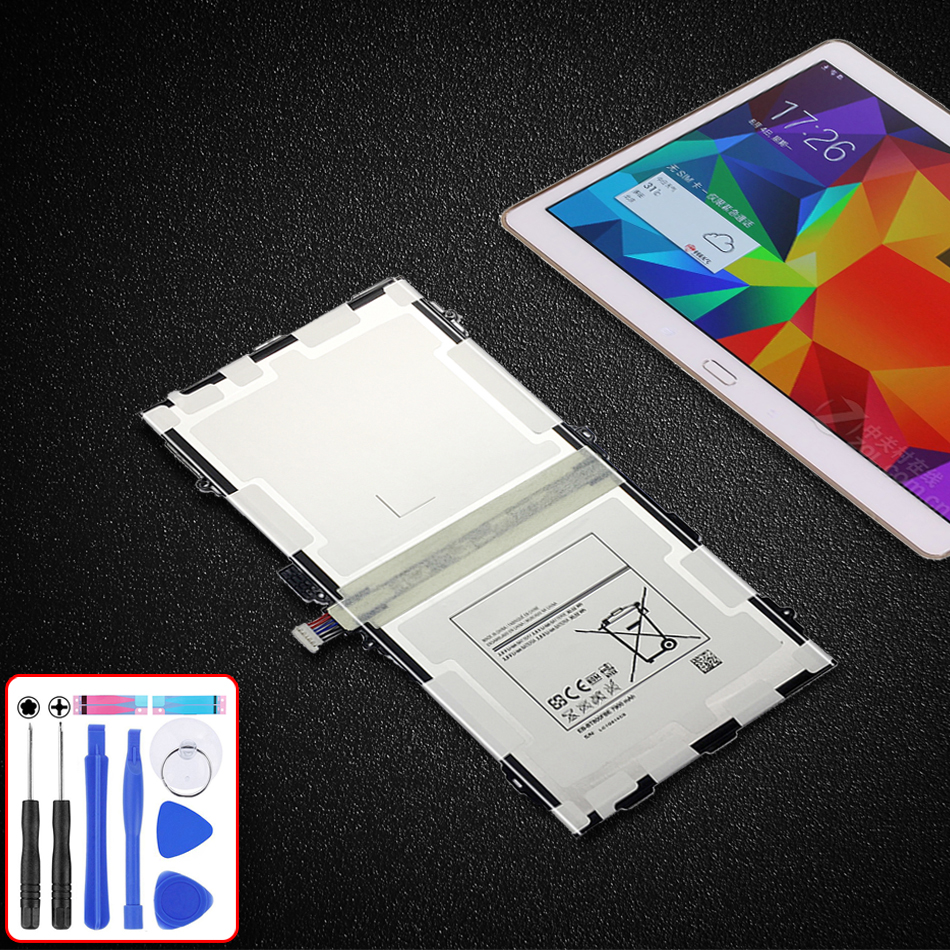 Laptop Replacement Battery EB-BT800FBE 7900mAh For Samsung Galaxy Tab S 10.5 T800 T801 T805