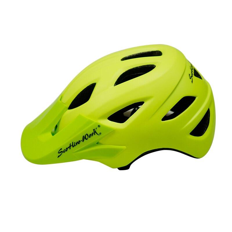 Scohiro-work Men Cycling Road Mountain Bike Capacete Da Bicicleta Bicycle Helmet Casco Mtb Cycling Helmet Bike cascos bicicleta