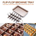 Антипригарной слайсер делитель Форма для выпекания Кухня посуда силиконовая форма для шоколада, помадки для выпечки пирожные, печенье Траф...