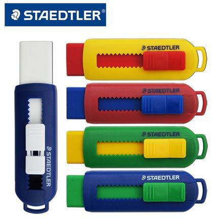 Staedtler STAEDTLER 525 PS1S Color Push Environmentally Friendly Rubber Eraser Environmentally Friendly Health