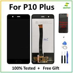 Dla Huawei P10 Plus wyświetlacz LCD + montaż digitizera ekranu dotykowego naprawa wymiana części 5.5