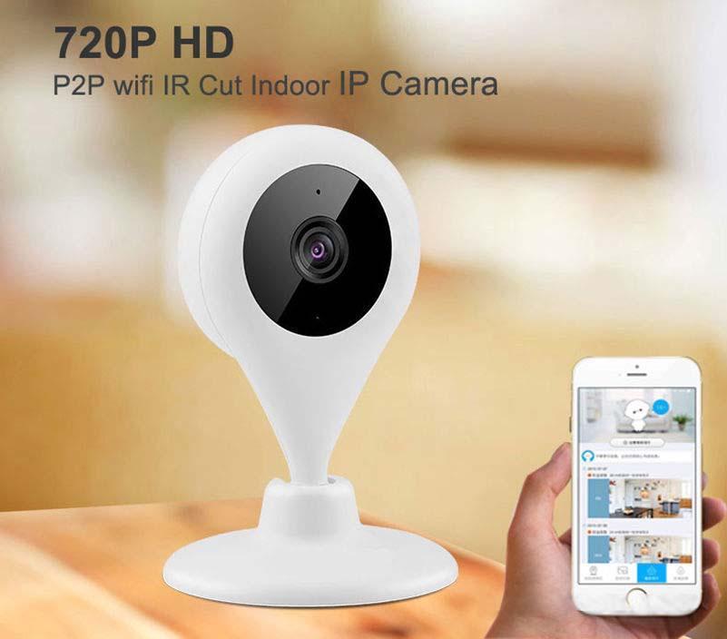 720P HD Mini Wifi Camera P2P Home Security Mobile Remote Cam Baby Monitor US