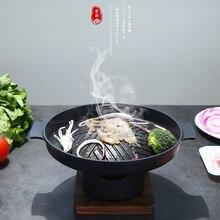 WOWCC Portatile Giapponese Barbecue Griglia In Lega di Alluminio Accessori Per Barbecue Barbecue di Famiglia Griglia A Carbone Strumenti Per La Casa Parco Uso