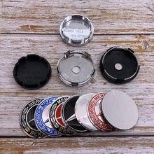4 pçs 56mm ou 60mm logotipo centro da roda do carro tampa aro crachá à prova de poeira capas decalque reequipamento decoração emblema criativo adesivo bc