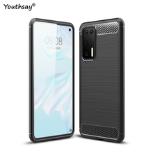 For Huawei P40 Case Soft Fundas Slim Flexible Silicone Shell Rubber Protector Phone Case For Huawei P40 Cover For Huawei P40 Pro for huawei p40 pro case liquid silicone soft rubber back protector fundas for huawei p40 pro cover phone case for huawei p40 pro