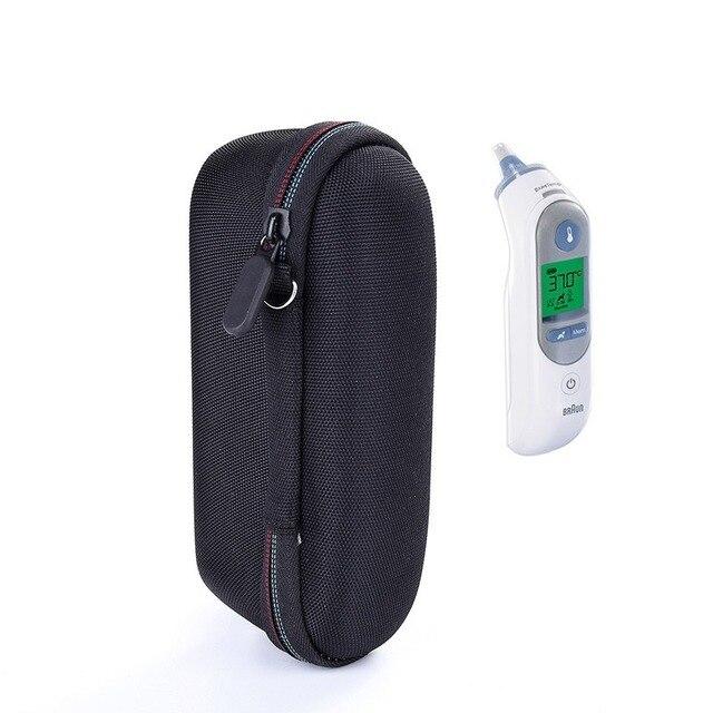 Чехол с термометром для Braun ThermoScan 7 IRT6520 Ручка для хранения переноски EVA жесткий дорожный защитный чехол (только чехол)