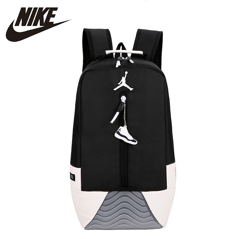 Nike Air Jordan Basketball Backpack AJ11 Man Training Bag Large Capacity Woman Sports Bags
