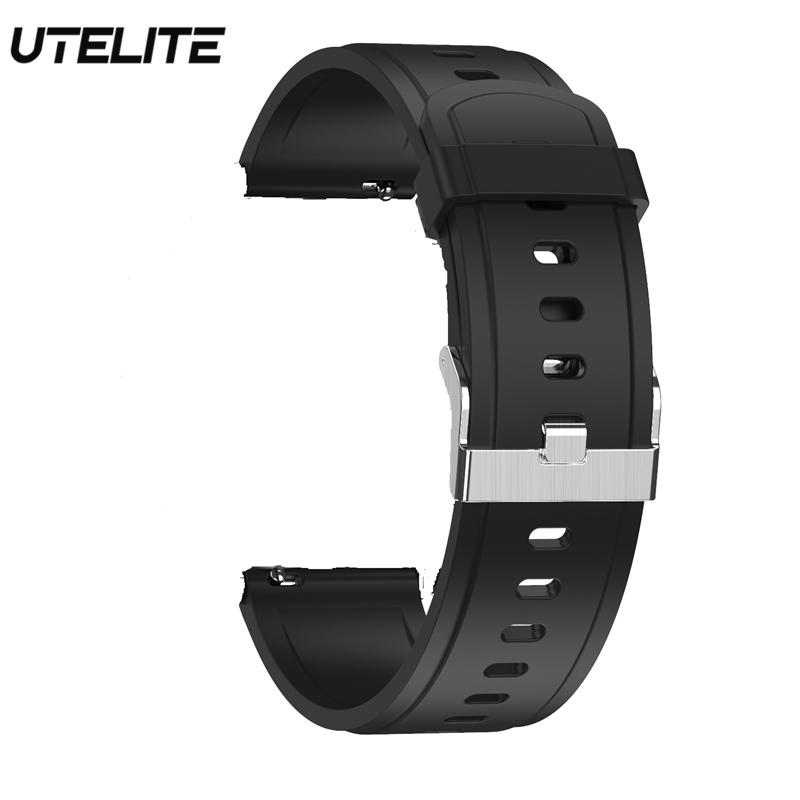 UTELITE DT78 Smart Watch Original Straps IP68 Waterproof PPG Heart Rate Blood Pressure Monitoring Smart Watch Strap for DT78