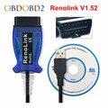 Renolink V1.52 / V1.87 для Renault ECU программист Reno Link OBD2 ключ Программирование подушка безопасности инструмент сброса