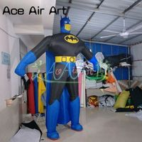 Giant Standing Classic Cartoon Inflatable Batman Balloon for Advertising,Promotion