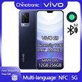 Новый VIVO S9 12 Гб 256 5G мобильный телефон Dimensity 1100 Android 11 6,44