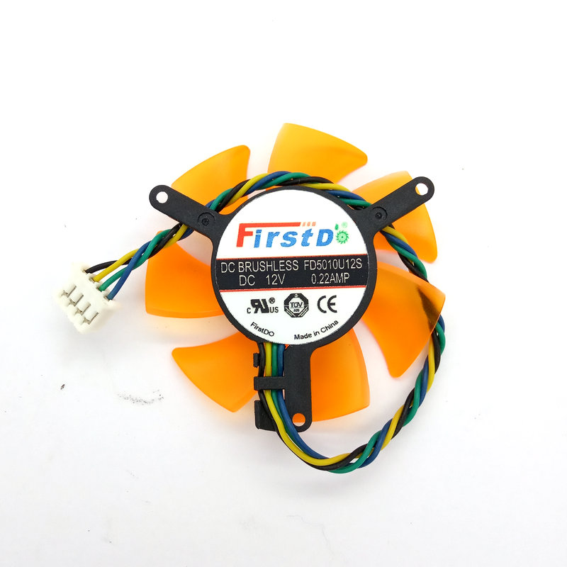 New Original FD5010U12S DC12V 0.22AMP Diameter 45MM Pitch 39MM For ZOTAC Graphics Card Cooling Fan